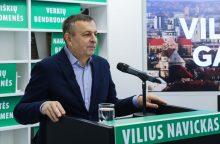 V. Navickas oficialiai paskelbė kandidatuojąs į sostinės merus