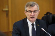 Opozicija prašo V. Pranckietį paraginti VRK pirmininkę trauktis iš pareigų