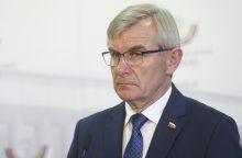 """Seimo pirmininko """"valstiečių"""" valdžios nuvertimo planas nepasiekė"""