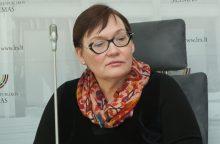 A. Maldeikienė siekia uždrausti reklamą ir LRT interneto svetainėje