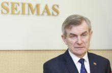 V. Pranckietis nepritaria Seimo narių kadencijų ribojimui