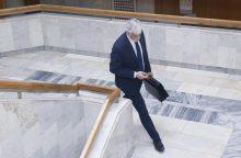 Politologai: priimti sprendimą dėl B. Markausko likimo buvo delsiama