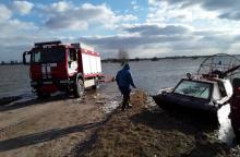 Pagėgių rajonas dėl potvynio skelbia ekstremalią padėtį