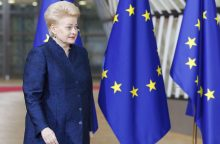 """D. Grybauskaitė su ES lyderiais aptars ekonominę integraciją, """"Brexit"""""""