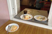 Panevėžio gimnazijai maisto tikrintojai didelių priekaištų neturėjo