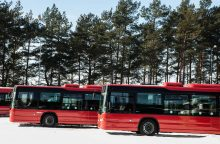 Nuo balandžio pabaigos – autobusų maršrutų pokyčiai