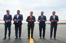Po 35 dienas trukusios rekonstrukcijos lėktuvai sugrįžta į Vilnių