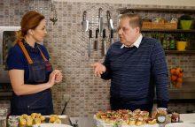 Virtuvės šefas R. Ščesnavičius prisipažino nevengiantis greitojo maisto