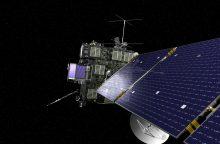 """Zondas """"Rosetta"""" įspūdingai baigė 12 metų trukusią misiją"""