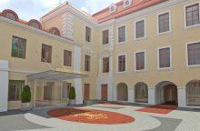 """Istoriniuose Vilniaus rūmuose – naujas """"Design Hotels"""" tinklo viešbutis"""