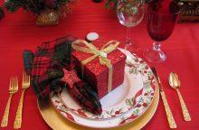 Kalėdų stalą dekoruoja net du trečdaliai vyrų