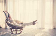 Laikas sau moko įveikti stresą ir mėgautis akimirka
