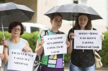Protestuotojai: Lietuvoje vėl gali būti 3 milijonai gyventojų