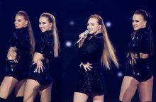 """""""Eurovizijos"""" atrankose išgarsėjusi Paula lygiuojasi į A. Grande"""