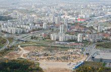Vilniaus valdžios ir Vyriausybės nesutarimai stabdo nacionalinio stadiono projektą