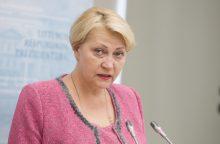 Ministrė R. Budbergytė – prieš PVM lengvatas maisto produktams