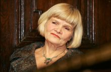 Aktorė O. Dautartaitė: aš buvau teatre ir teatras buvo mano