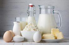 Dietologė: netoleruojantys laktozės neskuba atsisakyti pieno produktų