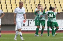 """LFF taurės pusfinalyje Vilniaus """"Žalgiris"""" nukovė bendravardį iš Kauno"""