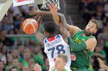 Lietuvos krepšininkai iškaršė kailį prancūzams