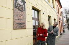 Legendiniam aktoriui V. Kancleriui – memorialinė lenta