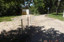 Problemą prie Poilsio parko išsprendė užtvarai
