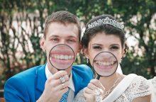 Vestuvėse – juokas pro ašaras