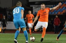 Lietuvos jaunimo futbolo rinktinė Gargžduose susitiks su Suomija