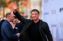 Internete vėl pasklido gandai apie aktoriaus S. Stallone mirtį