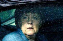 Dėl gilios politinės krizės – pagalba A. Merkel