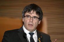 Vokietija nutraukė katalonų separatistų lyderio C. Puigdemont'o ekstradicijos bylą