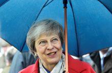 """Th. May gali atidėti gruodžio 11-ąją planuojamą balsavimą dėl """"Brexit"""""""