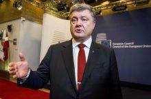 Ukrainos prezidentas patvirtino susitarimą dėl atskaitomybės už lainerio numušimą