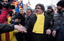 Belgija nutraukė Katalonijos lyderio ekstradicijos procedūrą