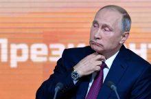 V. Putinas kasmetinėje konferencijoje žarsto pažadus