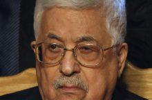 Prezidentas M. Abbasas prašys ES pripažinti Palestinos valstybę