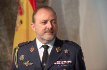 Akredituotas naujasis Ispanijos gynybos atašė Lietuvai