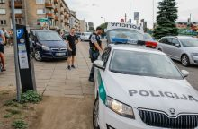 Šiauriniame rage nesėkmingai automobiliu manevravęs latvis atsakomybės neišvengs