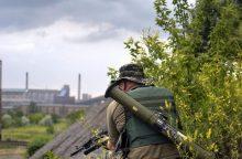 Gyvenimas ties fronto linija: atskleidė žiaurią Donecko priemiesčio kasdienybę