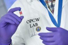 OPCW ekspertai paėmė mėginių Sirijos mieste Dumoje