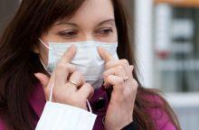 Į ligoninę dėl gripo paguldyti devyni žmonės