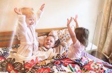 Miegamajame – su kūdikiu: kaip įsikurti patogiai