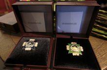 Įteikti trys aukščiausi Kultūros ministerijos apdovanojimai
