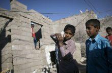 Pietryčių Iraną supurtė stiprus žemės drebėjimas