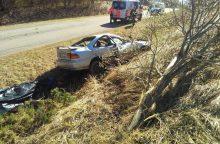 Per kraupią avariją žuvo du žmonės
