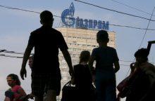 """Ukraina kaltina """"Gazprom"""" derybų dėl dujų tranzito žlugdymu"""