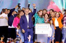 Kolumbijos prezidento rinkimus laimėjo konservatorius I. Duque