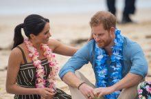 Besilaukianti princo Harry žmona padarė pertrauką vizito Australijoje programoje