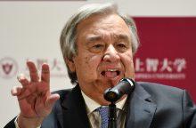 """JT vadovas ragina siekti Venesueloje dialogo, kad būtų išvengta """"katastrofos"""""""