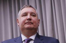 """""""Roskosmos"""" vadovu V. Putinas paskyrė buvusį vicepremjerą"""
